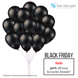 [The Spa-Lon] We will be having Black Friday Sales today!