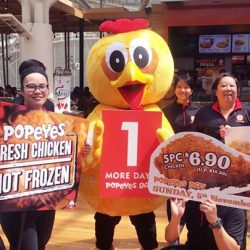 [Popeyes Louisiana Kitchen Singapore] It's less than 24 hours to Popeyes Day and we can't wait to see you!