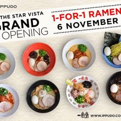 [Ippudo Express] IPPUDO'S NEW OUTLET AT THE STAR VISTA!