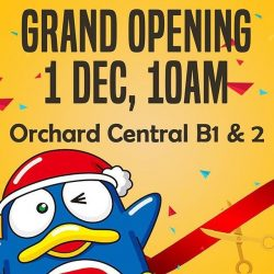[Orchard Central] We are eagerly counting down to the opening of Don Don Donki on 1 Dec, 10am.