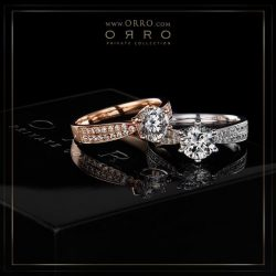 [ORRO Jewellery] White Gold or Rose Gold?