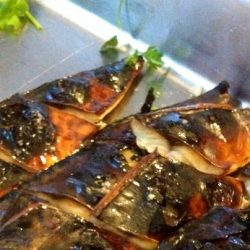 [THE SEAFOOD MARKET PLACE BY SONG FISH] Grilled Saba Fish in Teriyaki SauceTasty and full of flavour due its fat content, a well grilled marinated saba