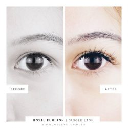 [Milly's] For ladies who prefer natural looking lashes!