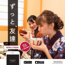 [YAYOI Japanese Teishoku Restaurant] Spread the love & You Can Get Rewarded 💝 If you have always been a fan of YAYOI, why not introduce it