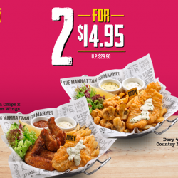 [The Manhattan FISH MARKET Singapore] Jio your closest kaki and have a year-end feast!