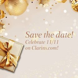 [Clarins] Save the date!