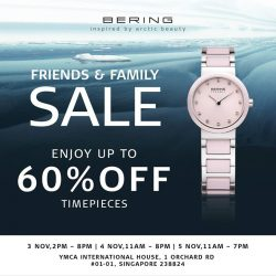 [BERING] To our BERING friends and family, join us at our BERING warehouse sale starting this Friday till Sunday!