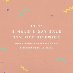 [LOVE AND BRAVERY] Celebrate Single's Day our way.