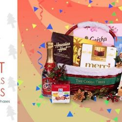 [The Cocoa Trees] Purchase among specific Christmas Hamper collections and get it delivered free.