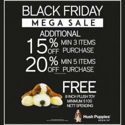 [Hush Puppies Singapore] Black Friday Mega Sale!