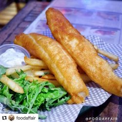 [District 10 Bar & Grill] 1-for-1 Fish & Chips all night, isn't this the best reason to close off the week?