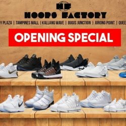 [Hoops Factory] Opening SpecialTo celebrate the opening of our 9th outlet located at Queensway Shopping Centre, we are having a 30%