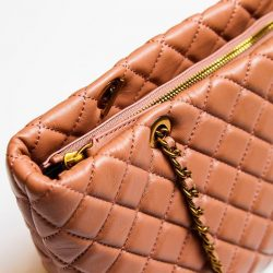 [Gracious Aires] One of our best seller - Baby pink quilted elegance straight to your wardrobe.