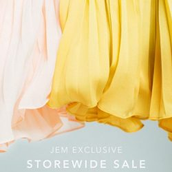 [LOVE AND BRAVERY] We may be half-way through our JEM Exclusive Storewide Sale, but the racks are not half-full.
