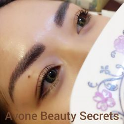 [AVONE BEAUTY SECRETS] Someone had her brows and lashes redefined with us today!