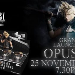 [TOG] Celebration of the Launching Events of Final Fantasy Trading Card Grand Launching of OPUS IVFormat: 9 Packs Sealed, 3rounds