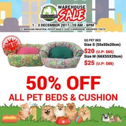 [Pets' Station] 1 MORE DAY TO PSWarehouseSaleLooking for cute and comfy beds or cushions for your furkids?