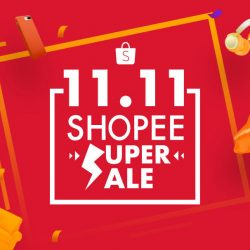 Double 11 Special: Shopee Super Sale with Hourly Flash Deals, Over 500 $1.10 Deals & $7 OFF Coupon Code!
