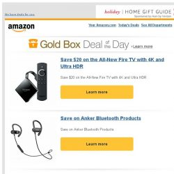 [Amazon] Save $20 on the All-New Fire TV with 4K and...