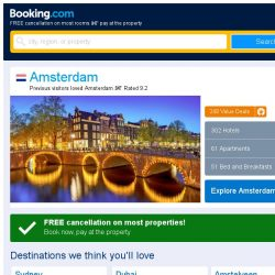 [Booking.com] Deals in Amsterdam from S$ 54