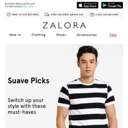 [Zalora] You've got to see these (Everything under S$39.90)