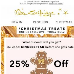 [Miss Selfridge] Mystery discount inside...