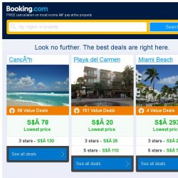 [Booking.com] Cancún, Playa del Carmen, or Miami Beach? Get great deals, wherever you want to go