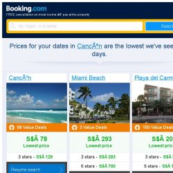 [Booking.com] Prices in Cancún dropped again – act now and save more!