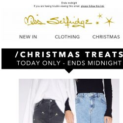 [Miss Selfridge] up to 30% off ALL jeans!