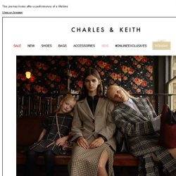 [Charles & Keith] READ MORE | THE TRAVELLER'S TALE