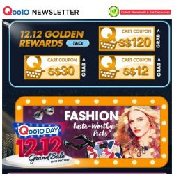 [Qoo10] [Qoo10 12.12 Specials!]  $684 Gucci Bag After Coupon With Free Shipping + $45 Crabtree & Evelyn Christmas Gift Set!