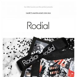 [RODIAL] 24 Hours Left: 15% off Christmas Gifts 🕒