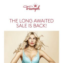 [Triumph] 💞 THE 12.12 SALE STARTS EARLY!