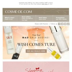 [COSME-DE.com] 🎄Christmas Season! All the things you want are.. ALL HERE‼