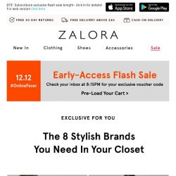 [Zalora] Have you seen these top 8 brands?