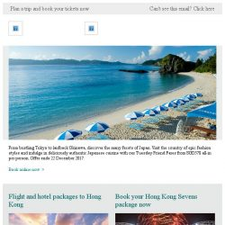 [Cathay Pacific Airways] Tuesday Friend Fares: Japan special from SGD578 all-in
