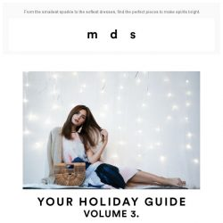 [MDS] Your Holiday Guide, volume 3.