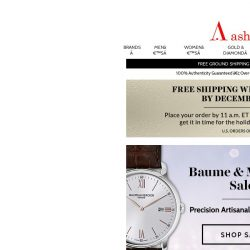 [Ashford] Baume and Mercier, Jaquet Droz Best Deals of the Year