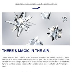 [Finnair] Seasonal offers from Santa's official airline