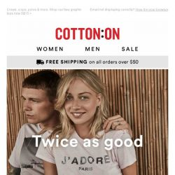 [Cotton On] Addicted to that good deal?