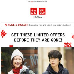 [UNIQLO Singapore] Get your hands on these!