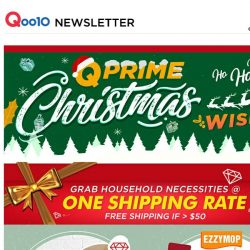 [Qoo10]  $9.90 Wonder Cleaner! Grab Household Items @ ONE Shipping Rate with QPrime Delivery!
