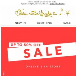[Miss Selfridge] £10 & under: Sale buys you'll <3