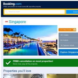 [Booking.com] Deals in Singapore from S$ 29