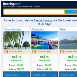 [Booking.com] Prices in Pantai Cenang dropped again – act now and save more!