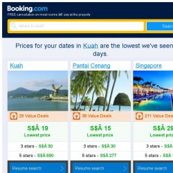 [Booking.com] Prices in Kuah dropped again – act now and save more!