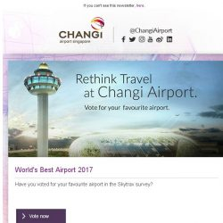 [Changi Airport] , are you one of the 60 million passengers at Changi Airport?