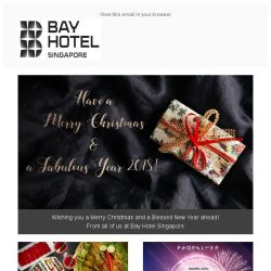 [Bay Hotel] Season's Greetings from Bay Hotel Singapore