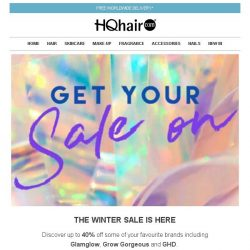 [HQhair] The Winter Sale Is Here | Exclusive Savings Inside