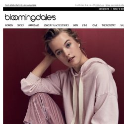 [Bloomingdales] Chill Out in Loungewear Starting at $46, Plus Take 15% Off